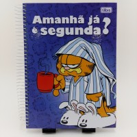 Caderno Tilibra 10x1 200fls Cd Garfield