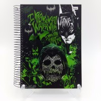 Caderno Foroni 10x1 200fls Cd Batman Game