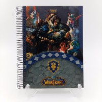 Caderno Tilibra 10x1 200fls Cd Warcraft