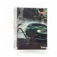 Caderno Tamoio 15x1 Cd 300fls Speed Car