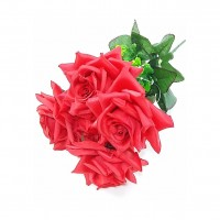 Flor Crysmax Artificial Buque Rosa X5 Am-1006