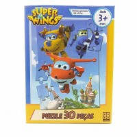 Quebra Cabeca Grow 0030pcs Super Wings