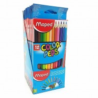 Lapis Cor Maped 12 Cores Color Peps